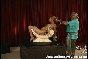 Asian chick gets tied to the antique-sty - XXX Dessert - Picture 2