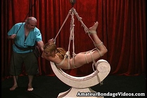 Asian chick gets tied to the antique-sty - XXX Dessert - Picture 5