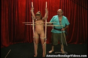 Asian chick gets tied to the antique-sty - XXX Dessert - Picture 8