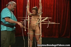 Asian chick gets tied to the antique-sty - XXX Dessert - Picture 11