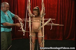Asian chick gets tied to the antique-sty - XXX Dessert - Picture 12