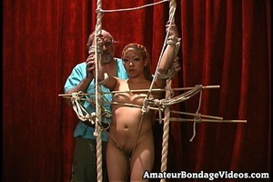 Asian chick gets tied to the antique-sty - XXX Dessert - Picture 14