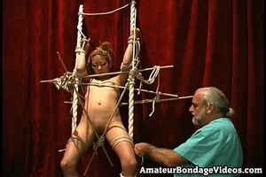 Asian chick gets tied to the antique-sty - XXX Dessert - Picture 15