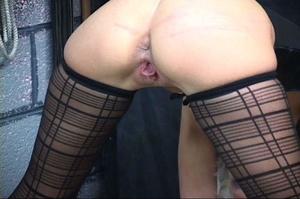 Bondaged blonde chick gets spanked hard  - XXX Dessert - Picture 6