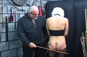 Bondaged blonde chick gets spanked hard  - XXX Dessert - Picture 7
