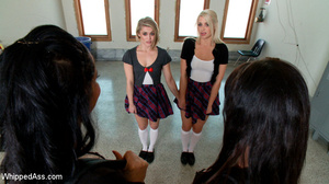 Two blonde slave girls pegged by juicy l - XXX Dessert - Picture 3