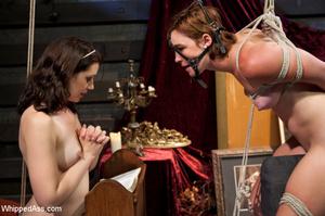 Nasty nun plays lesbian games with bdsm  - XXX Dessert - Picture 4