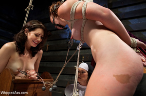 Nasty nun plays lesbian games with bdsm  - XXX Dessert - Picture 7