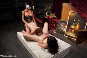 Nasty nun plays lesbian games with bdsm  - XXX Dessert - Picture 8