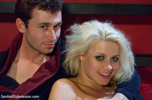 Blonde honey face fucked and whipped bef - Picture 14