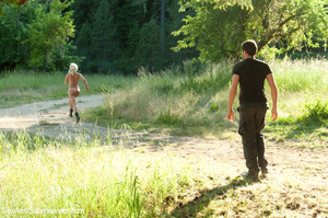 Two blondes captured in the woods and fu - XXX Dessert - Picture 6