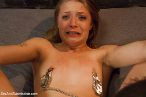 Blonde doll whipped and drilled merciles - XXX Dessert - Picture 11