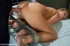 Amazing blonde hung upside down after ge - XXX Dessert - Picture 11