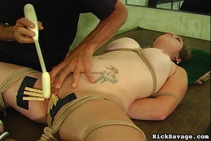 Master gives a nasty clit treatment to h - XXX Dessert - Picture 12