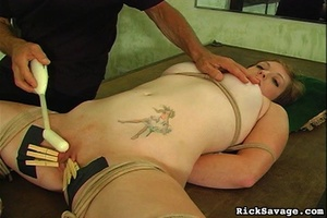Master gives a nasty clit treatment to h - XXX Dessert - Picture 13