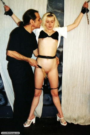 18 year old blondie gets chained and hum - XXX Dessert - Picture 4