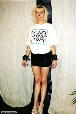 18 year old blondie gets chained and hum - XXX Dessert - Picture 7
