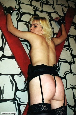 18 year old blondie gets chained and hum - XXX Dessert - Picture 12