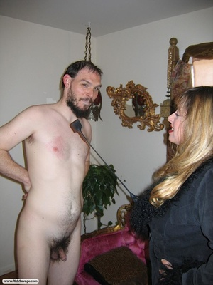 Dude gets humiliated by a super hot bust - XXX Dessert - Picture 11
