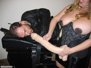 Dude gets humiliated by a super hot bust - XXX Dessert - Picture 16