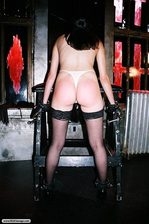 Gagged British bitch is ready for some n - XXX Dessert - Picture 2