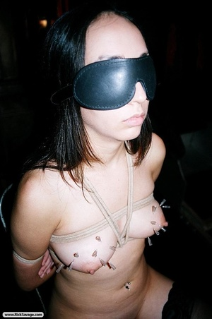 Gagged British bitch is ready for some n - XXX Dessert - Picture 6