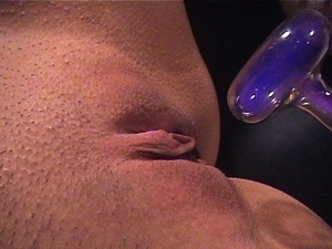Fine babe with a shaved cunt gets gagged - XXX Dessert - Picture 14