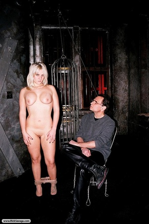 Gagged blonde darling gets through a rea - XXX Dessert - Picture 6