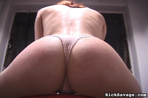 Redhead chick gets gagged and tied up by - XXX Dessert - Picture 15