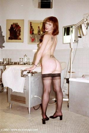 Hot redhead nurse gets treated by her ki - XXX Dessert - Picture 3