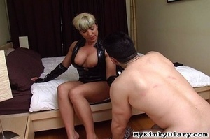 Busty blonde MILF gets her butthole and  - XXX Dessert - Picture 10