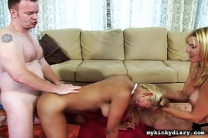 Two busty blondes play with sex toys and - XXX Dessert - Picture 13