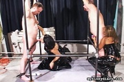 bondaged men get pleased