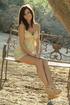 angelic beaver yellow dress