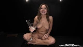 brunette, curvy, group sex, juggs