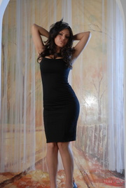 sophisticated lady black short
