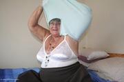 grandma babe takes off