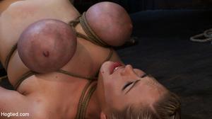 Big boobs slave girl finger fucked in ti - XXX Dessert - Picture 5
