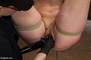 Red haired slave gets fisted in suspensi - XXX Dessert - Picture 13