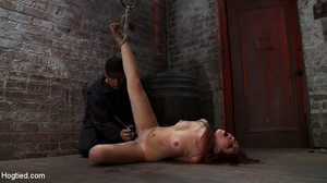 Slender redhead submits to her master fo - XXX Dessert - Picture 2