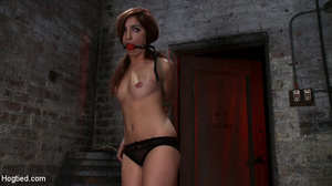 Slender redhead submits to her master fo - XXX Dessert - Picture 5