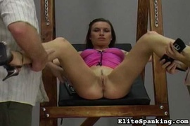 beauty, pussy, spanking, tied up