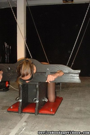 Horny slave gets tied up and fucked so d - XXX Dessert - Picture 1