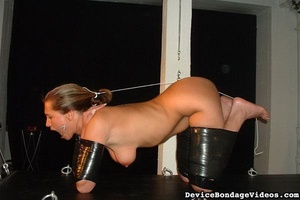 Horny slave gets tied up and fucked so d - XXX Dessert - Picture 3