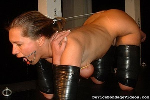 Horny slave gets tied up and fucked so d - XXX Dessert - Picture 5