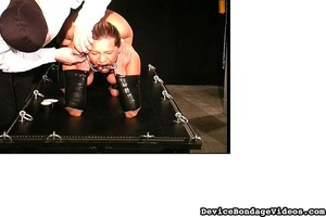 Horny slave gets tied up and fucked so d - XXX Dessert - Picture 7