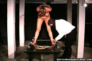 Horny slave gets tied up and fucked so d - XXX Dessert - Picture 9