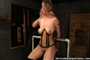 Slut loves to get her tits squeezed so d - XXX Dessert - Picture 1