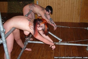 Two tattooed darlings get their sweet as - XXX Dessert - Picture 9