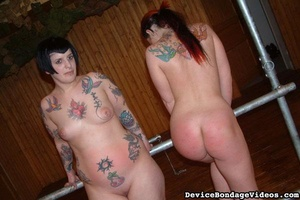 Two tattooed darlings get their sweet as - XXX Dessert - Picture 12